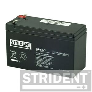 Strident 7ah 12v Battery, Stair Lift Battery, Mobility Scooter Battery, & More