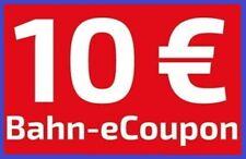 ⚡⚡⚡ 10 € eCoupon DB Deutsche Bahn Gutschein IC / ICE ⚡⚡BLITZVERSAND < 30 min ⚡⚡⚡