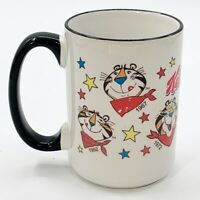 Kelloggs Tony the Tiger Coffee Mug Through the Years 1952 to Today Ceramic Cup