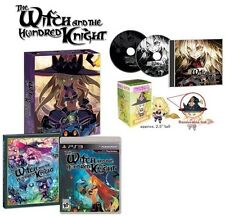 The Witch & Hundred Knight Collector's Edition & Figure [PlayStation 3 PS3] NEW