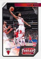 Coby White RC 2019-20 Chronicles PANINI THREADS Rookie Card #95 Chicago Bulls ??