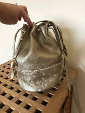 Bell & Fox gold bucket bag tags removed but unused