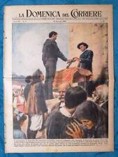 La Domenica del Corriere 18 gennaio 1953 Orgosolo - Mau Mau, Kenya - Venezia