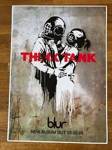 Blur Think Tank poster 420x 594mm (A2)