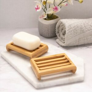 Bamboo Soap Dish, Eco Product, Fast Delivery, UK Seller