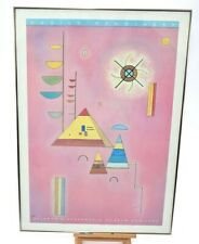 Rare Vasily Kandinsky Abstract Solomon Guggenheim Art Museum Poster Print