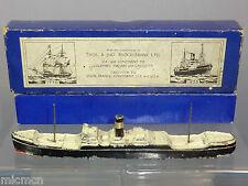 "VINTAGE H.B.SALE LTD  MODEL No XX ""BROCKLEBANK CARGO SHIP PRESENTATOINAL BOX MIB"