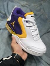 "Jordan Big Fund - BV6273-105 - White / Gold / Purple aka ""Lakers"" - Men's Sz. 12"