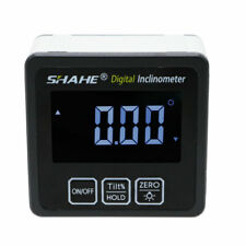 Shahe Precision Digital Protractor Inclinometer Level Box Digital Angle Finder
