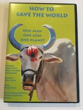 How to Save the World One Man One Cow One Planet DVD - Good - Free Shipping