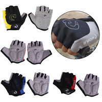 Cycling Gloves Bicycle Motorcycle Sport Gel Half Finger Gloves S- XL Size Sets