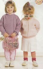 4e0595be2add25 2 Gorgeous CHILDREN Knitting Patterns copy JUMPER Sweater PULLOVER