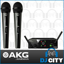 AKG WSM40 Dual Wireless Handheld Vocal Microphone System 660.700 & 662.300 MHz