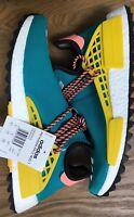 Pharrell Williams x Adidas NMD HU Trail Sun Glow AC7188 9 US DS 8 1/2 UK