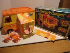 Vintage 1970 Barbie Country Camper w/ Box & Accessories
