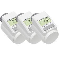 Eqiva Model L Elektronik-Heizkörper-Thermostat mit Boost-Funktion, 3er-Set