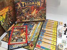 TALISMANO Board Game, DUNGEON of Doom & CITY OF ADVENTURE espansioni 100%
