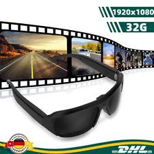 1080P Sportkamera Sonnenbrille Kamera Brille Videokamera Camcorder Recorder 32GB