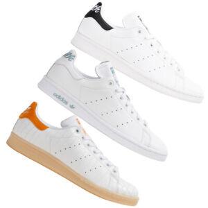 adidas Originals Stan Smith Damen Herren Sneaker Schuhe Turnschuhe weiß neu