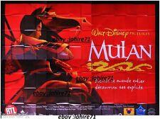 MULAN ! walt disney affiche cinema geante 4x3m