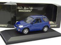 MINICHAMPS 1/43 - Toyota RAV4 Blue