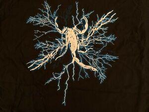 Sting Impact Wrestling Blue Lightning Scorpion 2XL T-Shirt XXL TNA WWE Crow