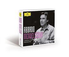 ABBADO - MENDELSSOHN (ABBADO SYMPHONY EDITION) 5 CD NEW+ BARTHOLDY,FELIX