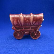 Antique Sewing Tape Measure Celluloid Covered Wagon, NR