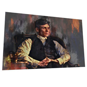 """The Birmingham Peaky Blinders """"Contemplation"""" Wall Art - Graphic Art Poster"""
