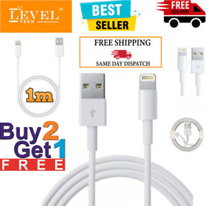 For Apple iPhone Fast Charger Cable 13 12 11 X 8 7 6 Long USB Data Lead Cable