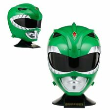 Mighty Morphin Power Rangers Legacy Green Ranger Helmet by Bandai Limited Stock