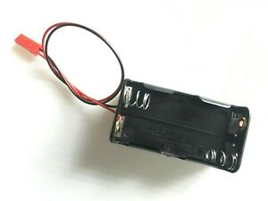 RC Battery Holder 4x AA Batteries, JST for RC Car, Buggy or Truck - UK Stock