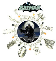 Batman Charm Bracelet TV Show Series Comics Jewelry Multi Charms