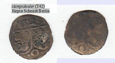1 Pfennig 1529 unilateralmente Öttingen Karl Wolfgang Ludwig XV XIV Martin circa 0,20 G