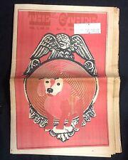 "April 26  1969 ""The East Village Other"" underground newspaper Spain anti-war SDS"
