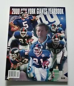 New York Giants 2000 Official Team Yearbook Mint Condition Super Bowl XXXV MINT