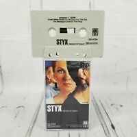 Styx Pieces of Eight A&M CRC CS-4724 Cassette Tape