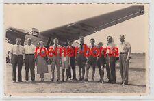 76855 Foto Ak Flugzeug Hansa Flugdienst um 1925