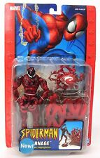 ToyBiz : Spider-Man - Carnage with Spider Trapping Action Figure