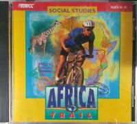 AFRICA TRAIL 1997 CD-ROM WINDOWS MAC COMPATIBLE AGES 10-16 SOCIAL STUDIES