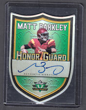 Matt Barkley 2013 Leaf Valiant Honor Guard Die Cut Auto Card USC On Card Auto