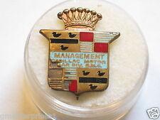 Cadillac Management Motor Car Division Vintage Pin , (Tray1Row2) *