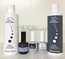 IBD Just Gel Polish- Essential Kit 5pc-Power Bond, BASE,TOP,Cleanser,Remove 8oz