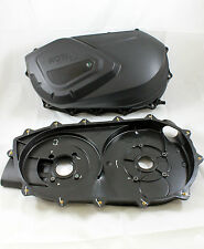 New Can Am Outlander 650 800 1000 Belt Cover with Back Plate Update 420611397