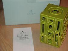 Partylite~Contempo Reed Diffuser & Tealight Holder-Green! P90622 Vgc! Lnib!