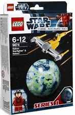 9674 NABOO STARFIGHTER & NABOO PILOT star wars lego NISB new legos set world