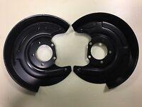 REAR Brake Disc back protection plate LEFT and RIGHT set Audi / Skoda / VW  NEW
