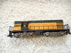 S SCALE AMERICAN FLYER #375 T&P AMERICAN FLYER LINES GP-7 AUCTION #2