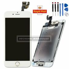 For iPhone 6 4.7'' White LCD Touch Screen Digitizer Camera Home Button Assembly