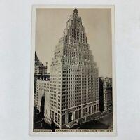 Paramount Building - New York City NY Vintage Postcard